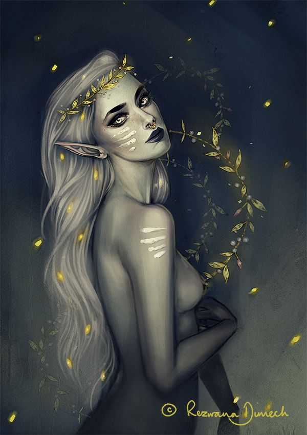 :Elven_Nature_III: by RezwanaDimech on DeviantArt