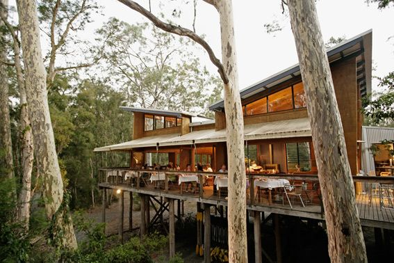 The Gunyah Restaurant - Paperbark Camp | Woollamia | Jervis Bay The perfect place for having breakfast and dinner