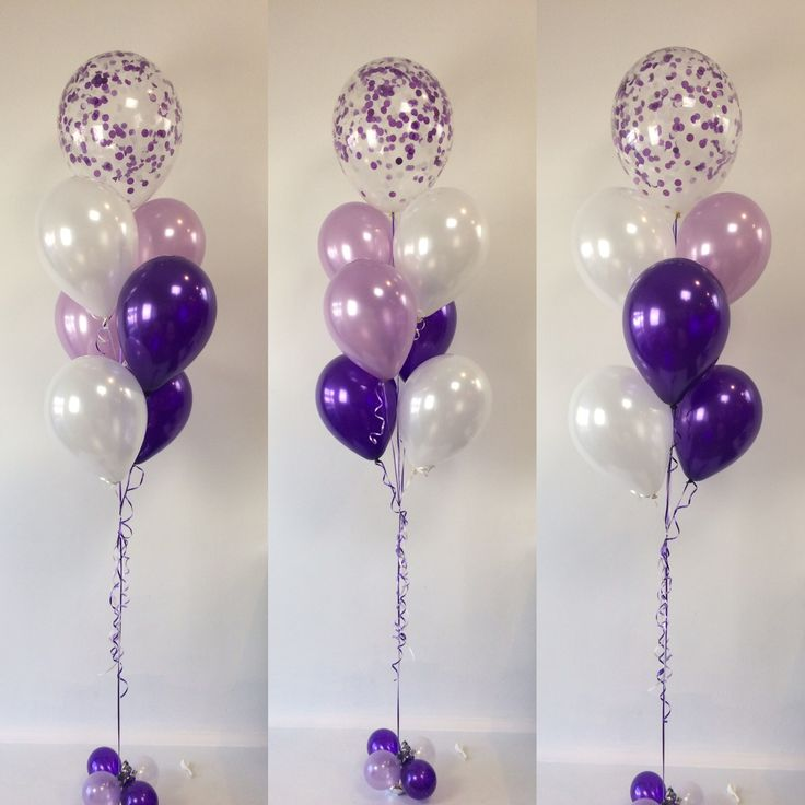 25 best ideas about purple party decorations on pinterest for Balloon decoration images party