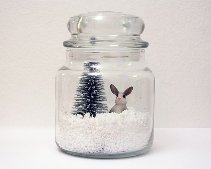 ★ DIY - Une jarre de Noël ★