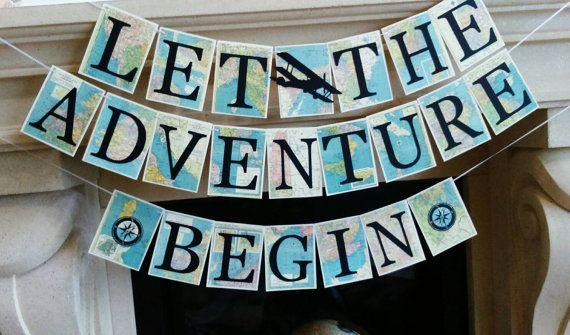 Bandera de aventura aventura tema viajes tema bandera la