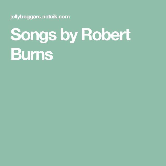 Songs by Robert Burns