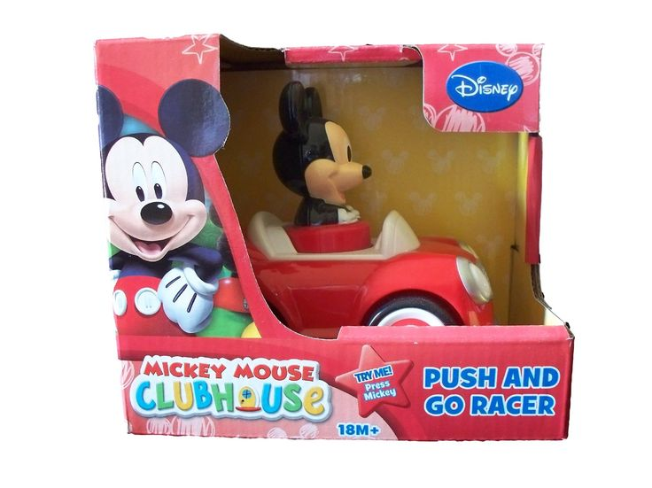 Disney Mickey Mouse Push And Go Racer Car Disney Mickey Mouse
