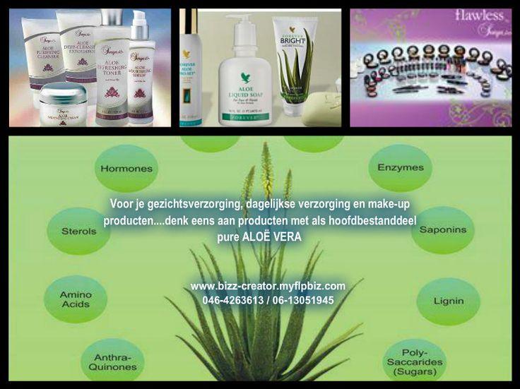 Denk bij dagelijkse huidverzorging eens aan natuurproducten!!