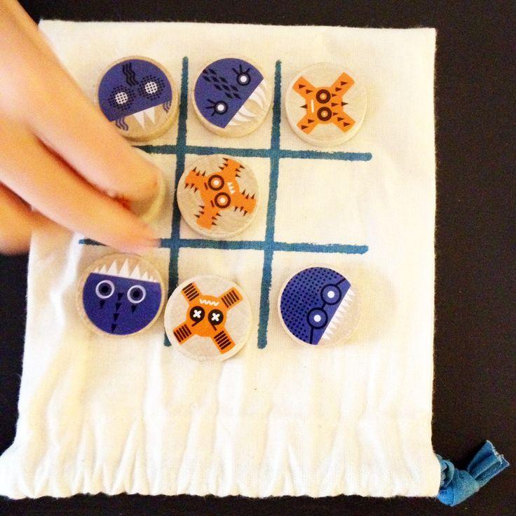 Plus de 25 id es uniques dans la cat gorie jeux de morpion sur pinterest jeu de tic tac toe - Comment fabriquer le jeu tac tik ...
