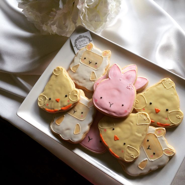 Easter cookies 2015 lamb,bunny,chick