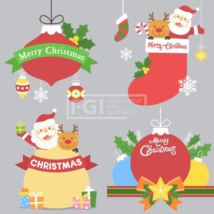 LL143, 에프지아이, 벡터, 배너, 팝업, 프레임, 캐릭터, 노인, 서양, 남자, 사람, 산타, 산타클로스, 이벤트, 크리스마스, 장식, 성탄절, 겨울, 즐거운, 행복, 웃음, 선물, 트리, 루돌프, 동물, 양말, 일러스트, illust, illustration #유토이미지 #프리진 #utoimage #freegine19517660