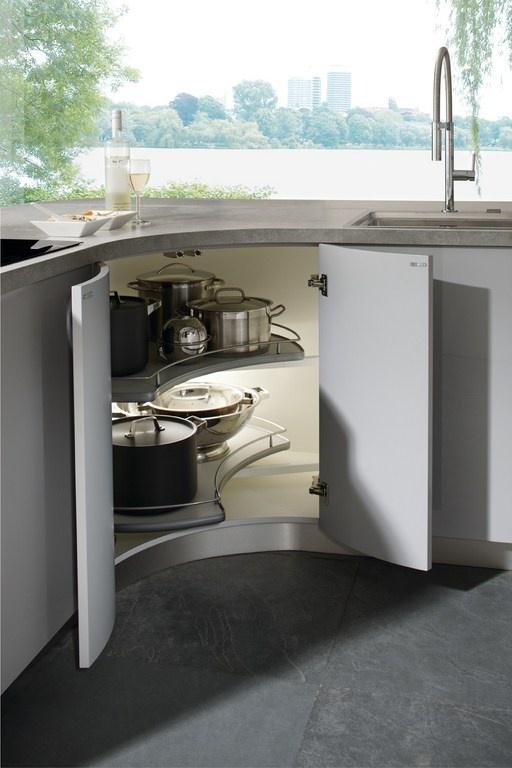 Mobiliario de cocina elementa modelo gala grisl piedra - Esquinero cocina ...