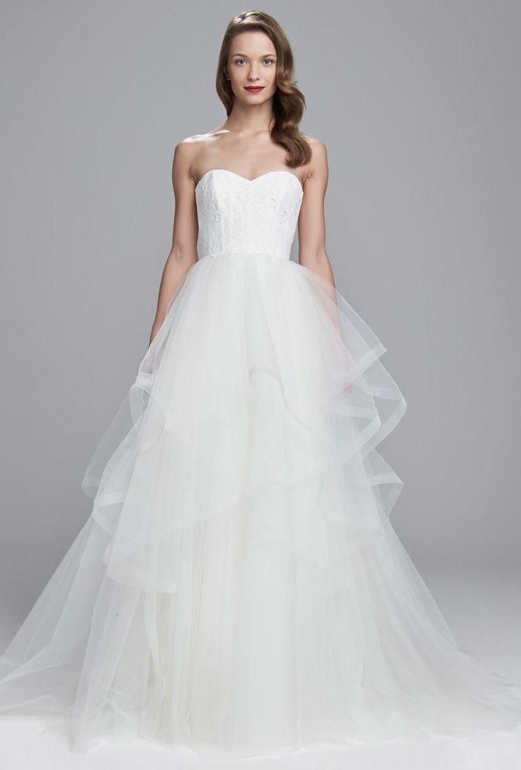 Nouvelle by Amsale Spring 2017 | https://www.theknot.com/content/nouvelle-amsale-wedding-dresses-bridal-fashion-week-spring-2017