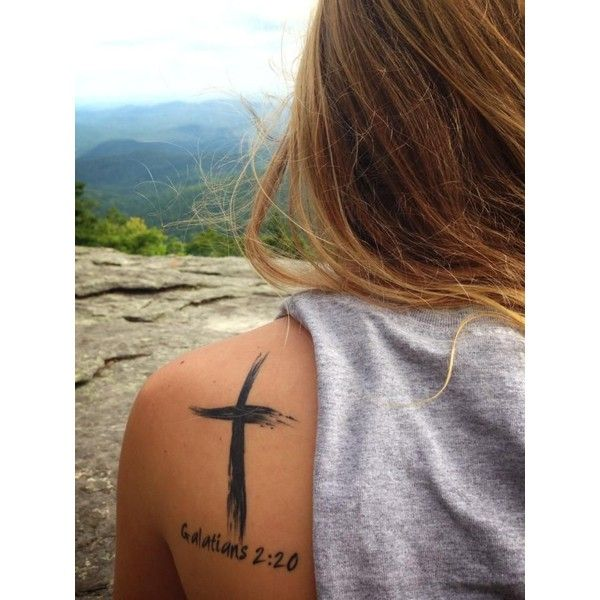 Heck Yeah, Christian Tattoos ❤ liked on Polyvore featuring accessories and tattoo