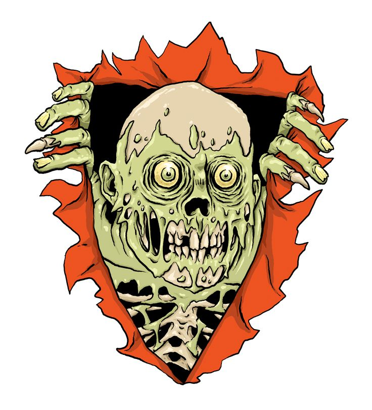 Zombie variation of classic Powell Peralta graphic  www.totcph.com