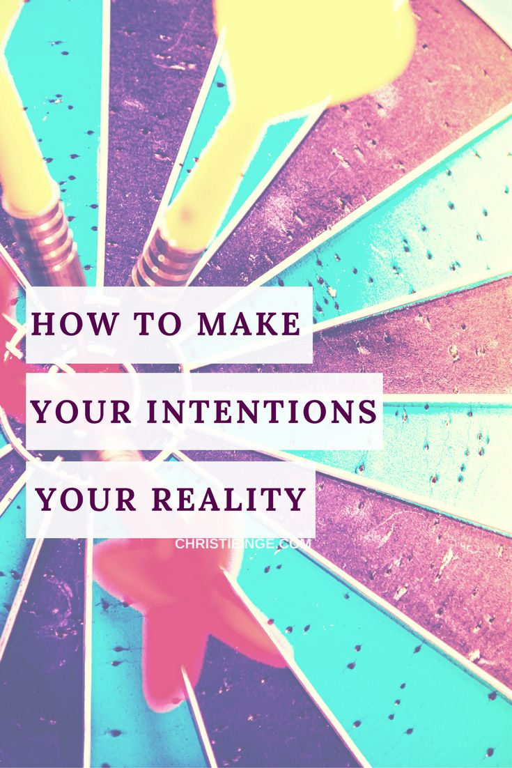 personal goals \ intentional living \ intention setting \ be happier in life