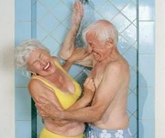 Growing old together - Beautiful.
