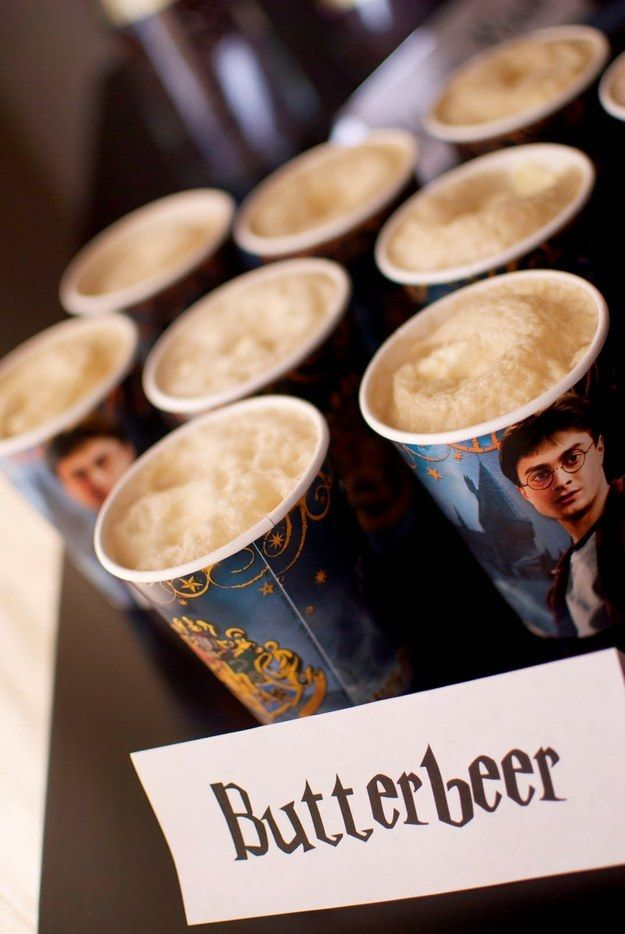 Impress your friends with some butterbeer, just like the kind served at The Three Broomsticks in Hogsmeade. | 29 Essentials For Throwing The Perfect Harry Potter Party