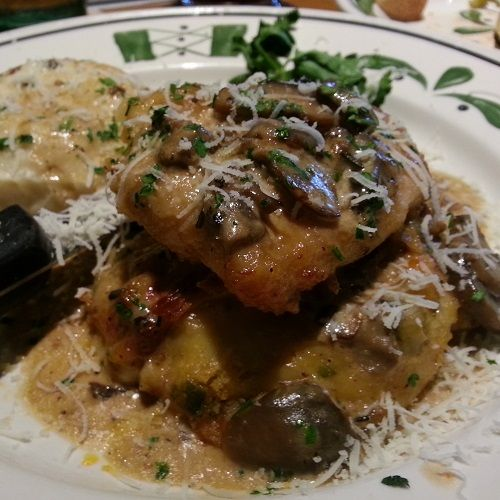 Secret Copycat Restaurant Recipes – Olive Garden Stuffed Chicken Marsala Recipe