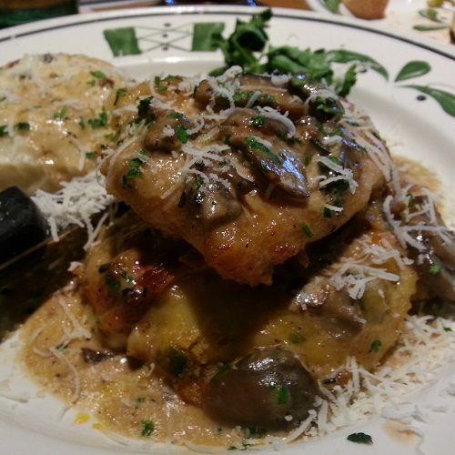 Secret Copycat Restaurant Recipes – Olive Garden Stuffed Chicken Marsala Recipe