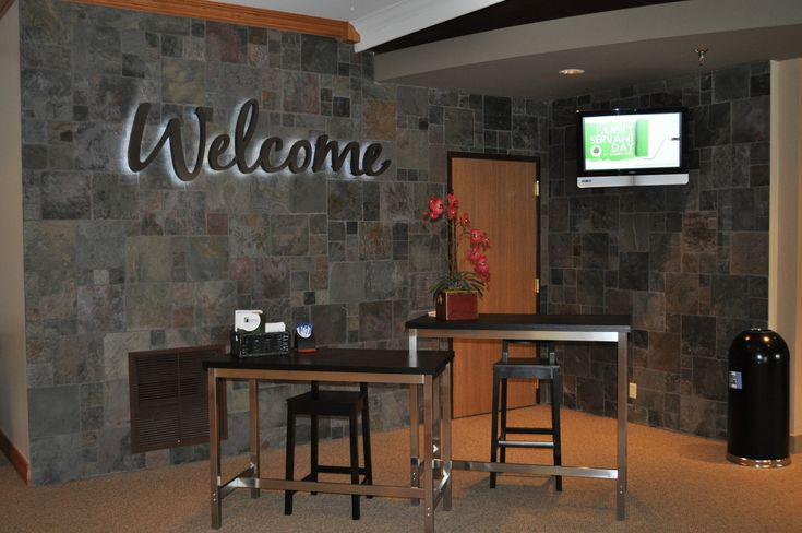 Foyer Office Quote : Best church welcome center ideas on pinterest