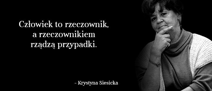 wisława szymborska cytaty o przypadkach detalicznych - Szukaj w Google