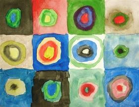 Quest Artists: LE: Kandinsky's Color Study