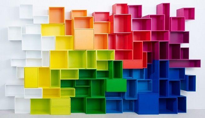 Cubit modular storage system | Belleinterior