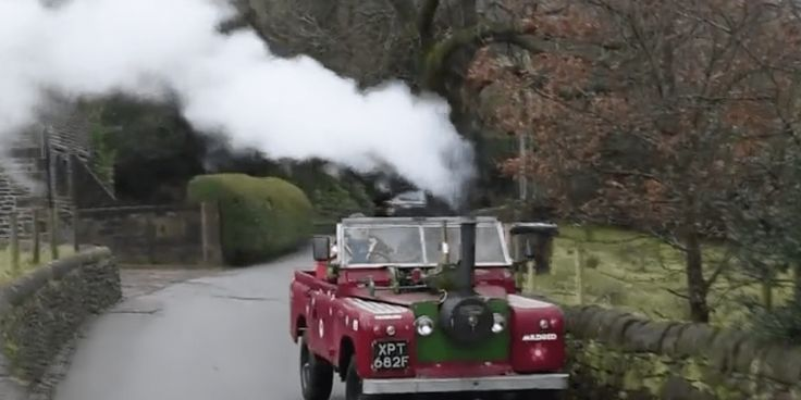 Meet the Man Who Built a Steam-Powered Land Rover Defender