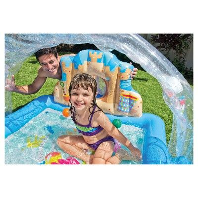 "Intex 67 X 59"" X 32"" Summer Lovin' Beach Inflatable Play Pool, Blue"