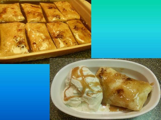 APPLE AND/OR PEACH ENCHILADAS - Fall Baking Treats