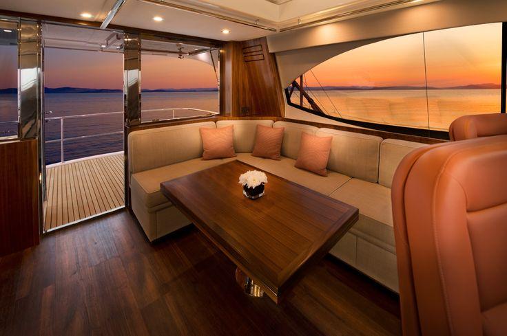 Riviera 77 Enclosed Flybridge Saloon