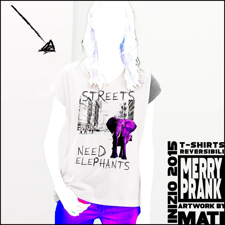 Wanna see wild elephants on the streets, no more traffic wtf! #MerryPrank #ShiftTshirts #shiftees #fliptees #flipshirts #NeckFresco #gooseneck #streetwear #streetart