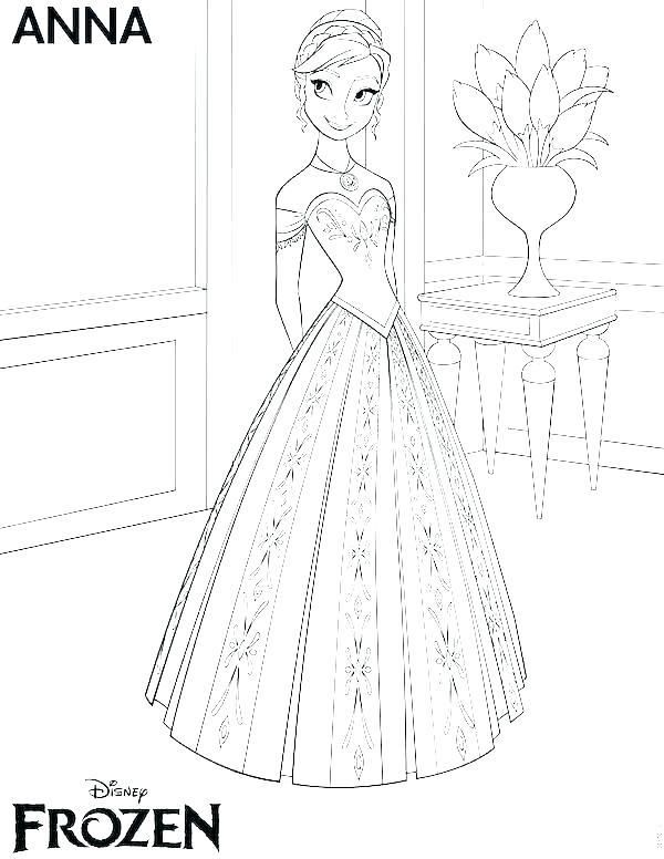 Princess Coloring Book Games Pages Free Printable Pictures Disney