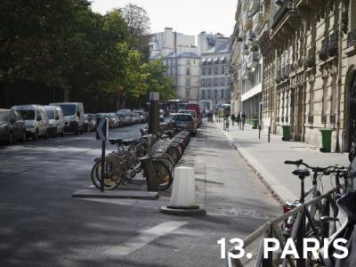 13. Paris, France (tie)