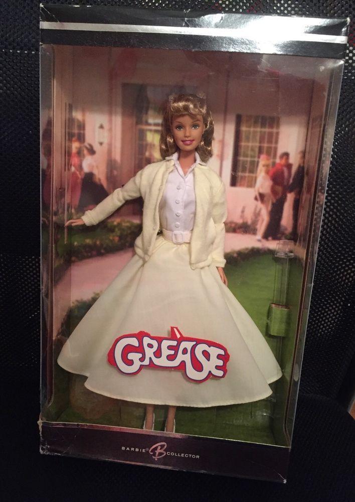 Grease Sandy Yellow Dress Barbie Doll Olivia Newton John ...