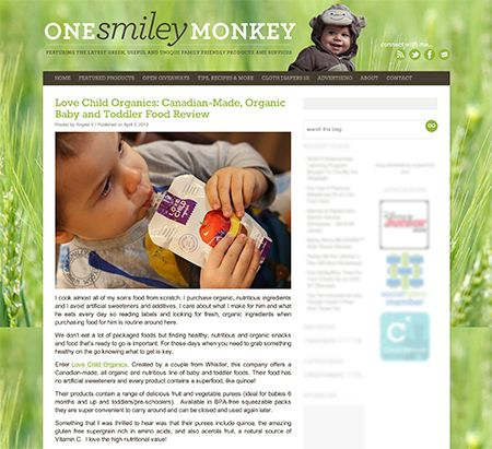 Blog Review: One Smiley Monkey