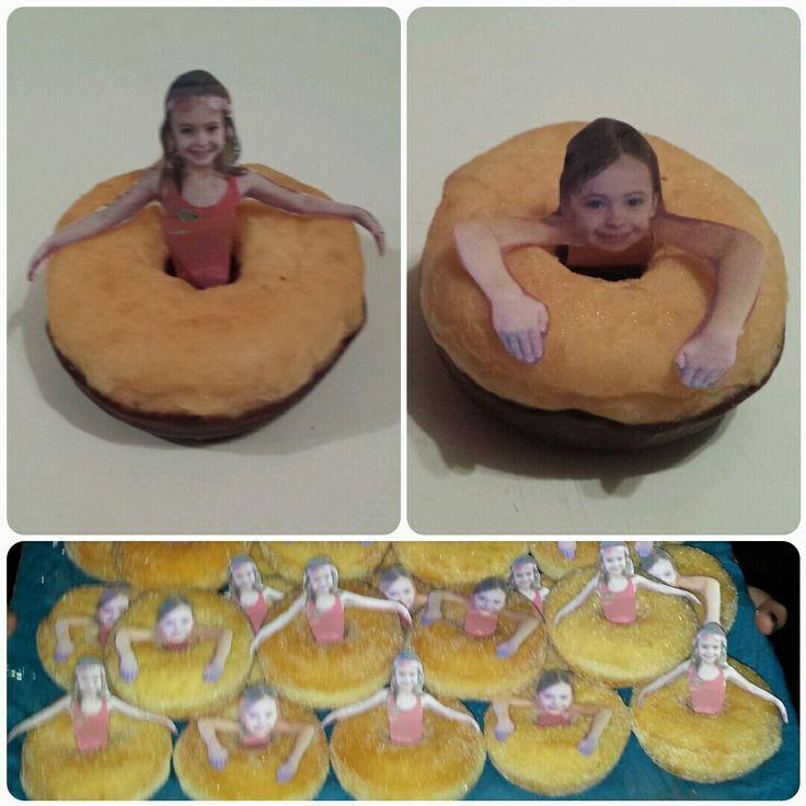 Traktatie  donut zwemband