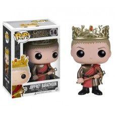 Figura cabezón del rey Joffrey Baratheon de Juego de Tronos. Tamaño aprox. 10cm.