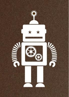 Robot Print by Hero Design