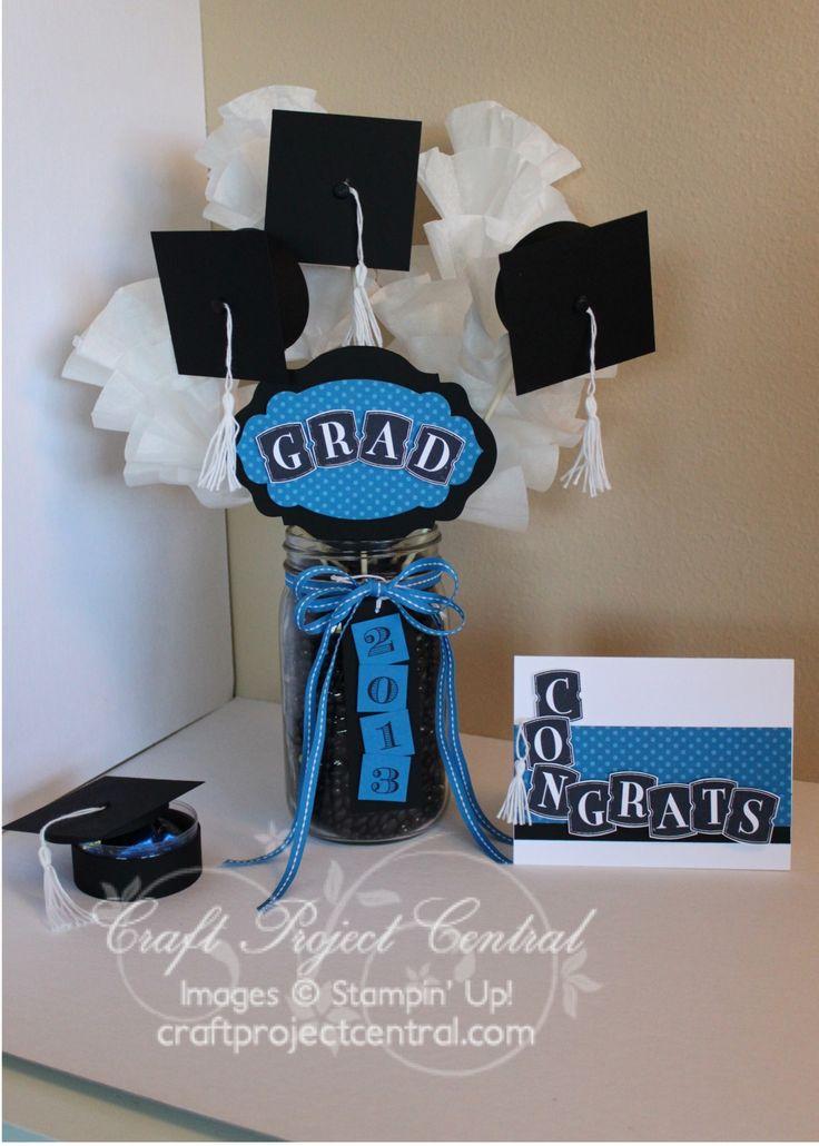 CraftProjectCentral.com » Blog Archive » Hats Off Graduation Decor!