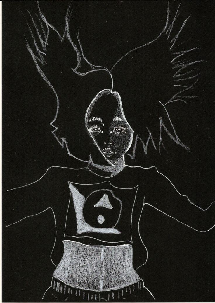 Random N 28  #art #illustration #drawing #draw #picture #share #artist #sketch #sketchbook #paper #pen #artsy #instaart #instagood #gallery #paperdark #creative #black #instaartist #dark #darkness #artoftheday #randomworld #girl #handmade #japangirl #japan #doodle