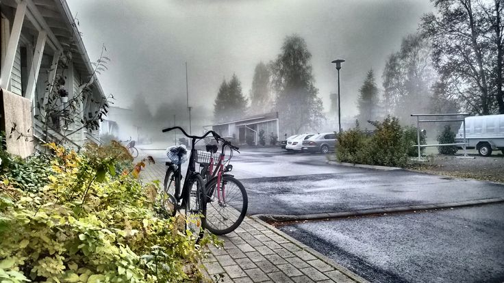 Bicycles. HDR image. Lumia 1020 photo by Auvo Veteläinen.