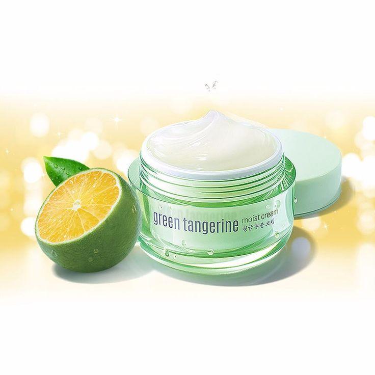 Goodal Green Tangerine Moisturizing Moist Cream 50ml #Goodal