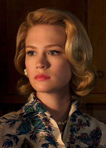 I Get My Vintage Hair Inspiration From Mad Men! #vintage