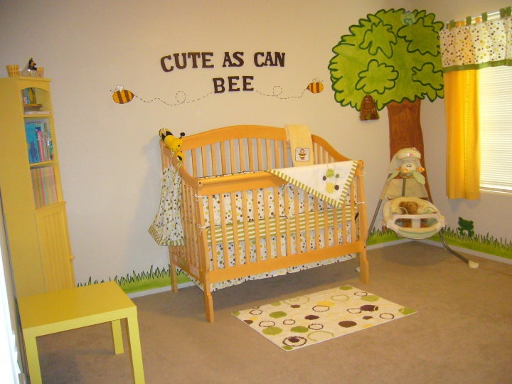 This Is For Liu Myers Cute As Can Bee Baby Room