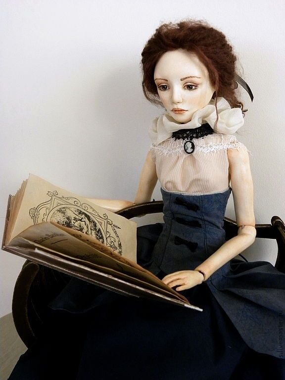 Купить Шарнирная кукла Анна - эксклюзивный подарок, подарок девушке, девушка, винтажный стиль