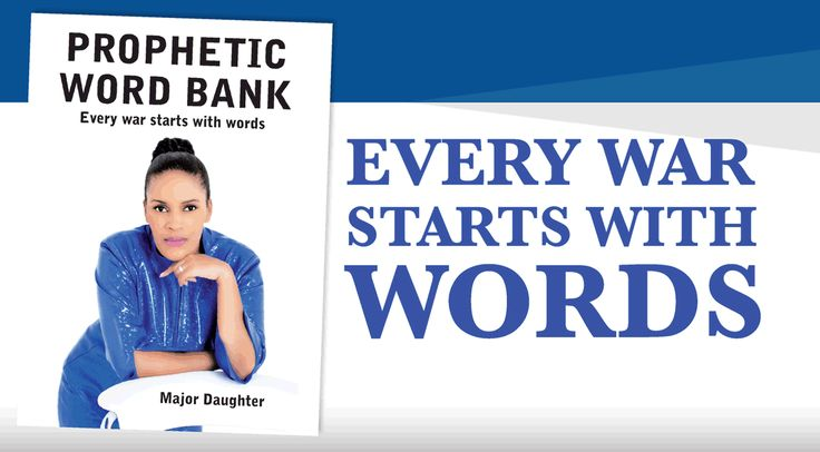 Every war starts with words. The Bible is our Heavenly Bank, Prophetic Word Bank is designed by the Holy Ghost to alter your destiny forever.  Be Updated and Upgraded with the latest version of GraceWorld Church, Get Prophetic Word Bank.The book is currently available at the GraceWorld Church Bookshop or you can contact us on 071 166 1616 or email writeus@majordaughterlive.org