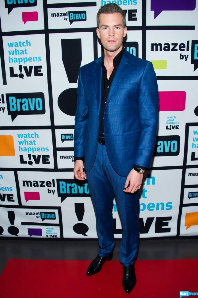 Ryan Serhant -  Suit: Luigi Bianchi Shirt: Hugo Boss Shoes: Christian Louboutin