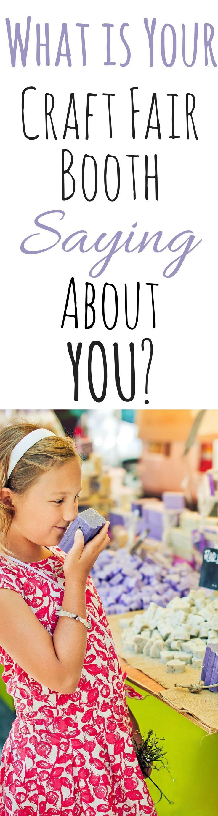 What is your craft fair booth saying about the mission and standards of your handmade business? Article here: www.creativeincom...