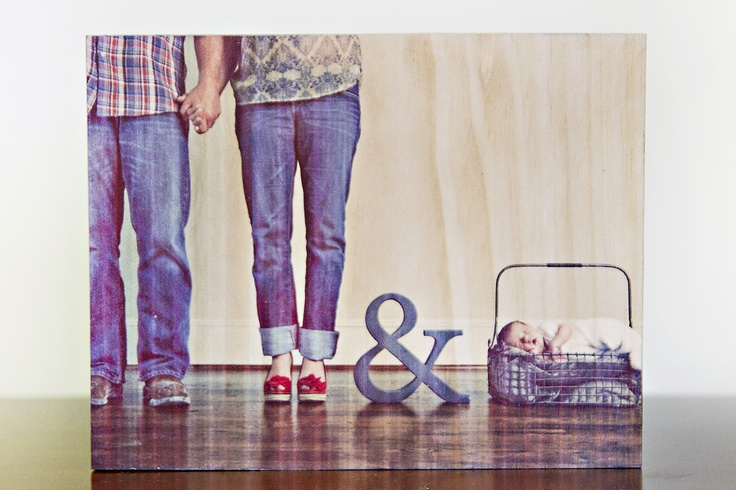 Cute new family photo