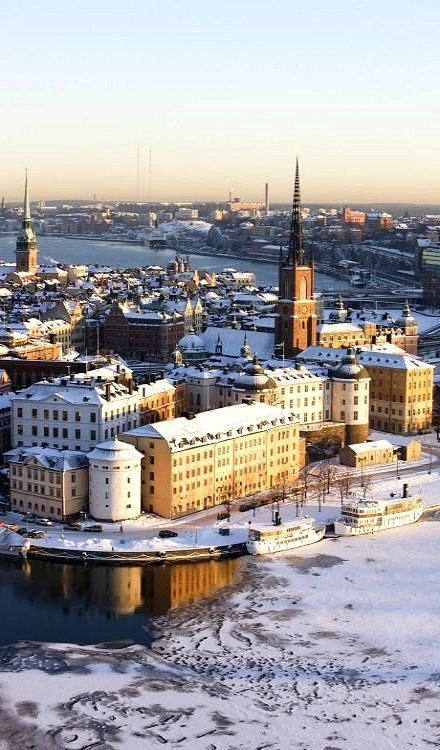 Reasons to Travel to Sweden During Winter Stephanie went to visit Johns family. Winter in Stockholm, Sweden
