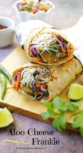 Frankies are basically wraps, and a popular Indian street food. This potato cheese Frankie is quite popular and the most common one amongst its vegetarian counterparts. I would occasionally indulge…