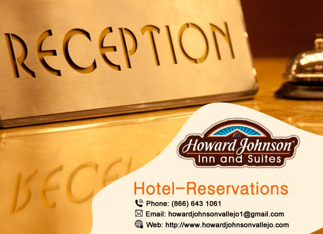 #Howardjohnsonvallejo can #Hotel_reservations in 2 ways: By E-mail, By Phone, By Web. Visit www.hojo.com http://goo.gl/ZvbxtA